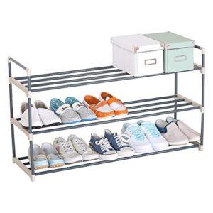 WOLTU SR0006 Schuhablage Schuhregal ? 3 x Ablagen ? 15 Paar Schuhe